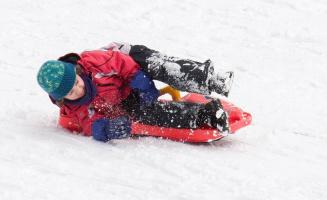 Zimní sportovní aktivity na Šumavě (Lipně)