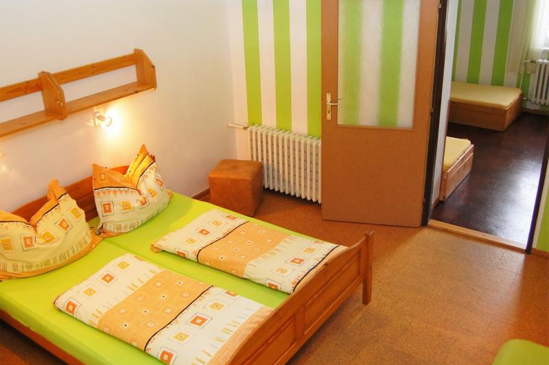 Rodinné pokoje se 2 místnostmi - ubytování Lipno