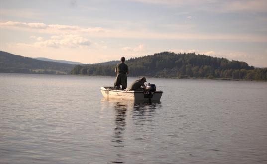 Ubytování s rybařením