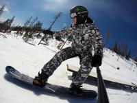 Snowboard na Lipně
